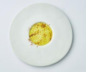 Risotto mantecato alle spezie e mandarino di Antonia Klugmann