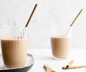 Veganer Kaffee-Smoothie