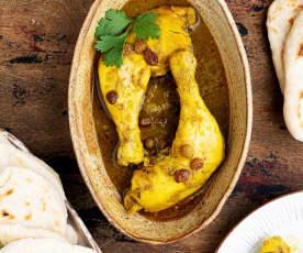 Tajine de pollo con pan pita TM6