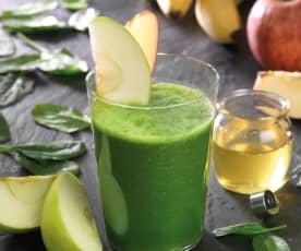 Green smoothie, frullato verde della salute