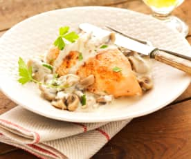 Volaille au riesling
