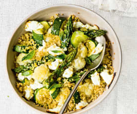 Légumes au quinoa