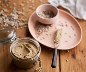 Manteiga de sementes de girassol