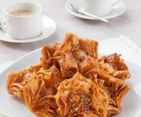 Pastelitos criollos de dulce de membrillo