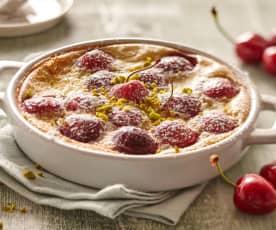 Clafoutis de cerezas (sin lactosa)