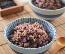 紫米燕麥飯