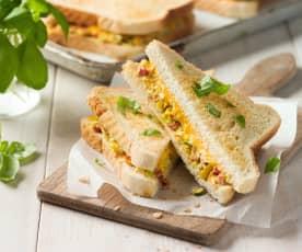 Gemüsetoast mit RUPP Big Toast