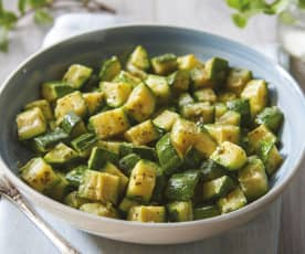 Mint Courgettes
