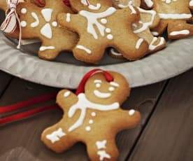 Galletas de jengibre (gingerbread)