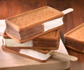 Sandwich-Eis