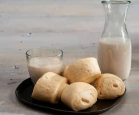 Petits pains mantou et lait de soja (TM6 Metric)