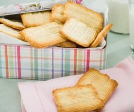 Galletas de manteca y coco