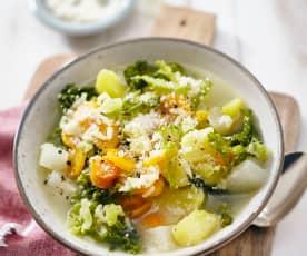 Gemüsesuppe alla Nonna