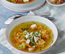 Hühner-Kraft-Suppe