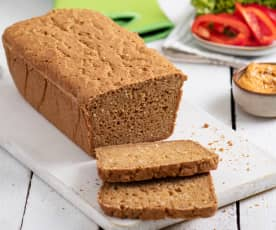 Bezglutenowy chleb kukurydziano-gryczany z tapioką