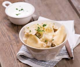 Pierogi (Cheese dumplings)