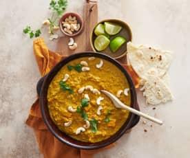 Curry de lentilles