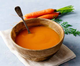 Soupe de carottes façon moro