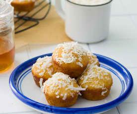 Pastelitos de coco (sin azúcar)