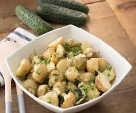 Ensalada de patata y pepino