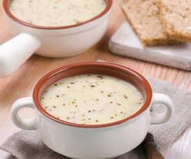 Sourdough soup (White borscht)