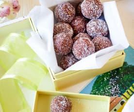 Chokladbollar - schwedische Schokoladenkugeln