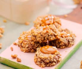 Ciasteczka z kajmakiem i solą
