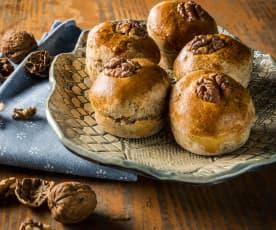 Ořechové briošky