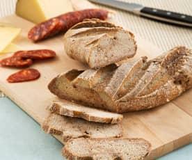 Pan de mijo, arroz y sarraceno (sin gluten)