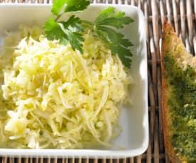 Weißkohlsalat