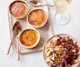 Parmesan-Creme-brûlée