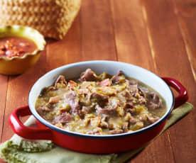 Carne en su jugo, estilo Jalisco