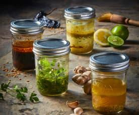 Marinada de limón y jengibre
