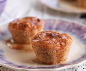 Muffin di mela e limone al vapore