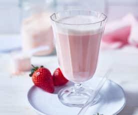 Erdbeer-Proteinpulver