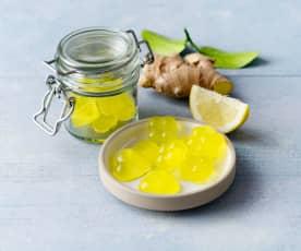 Zitronen-Ingwer-Gummis