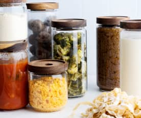 Bases - Brócoli y salsa de tomate