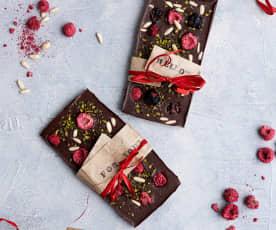 Barras de chocolate