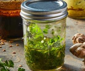Marinada de cilantro