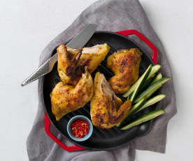 Malay-style coconut chicken