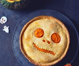Halloween quiche