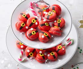 Macarons Papá Noel