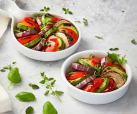 Ratatouille di verdure sottovuoto