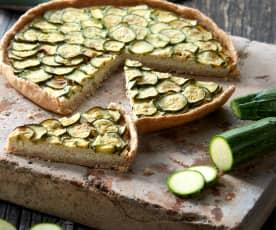 Crostata di zucchine (vegan)