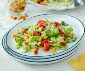 Schneller Caesar Salat