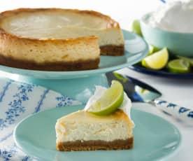 Cheesecake con lima