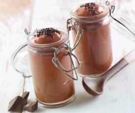 Cremoso al cioccolato al latte da vasetto (di Luca Montersino)