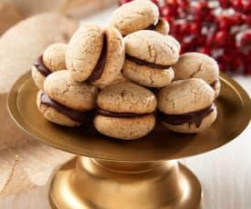 Baci di dama (Hazelnut Kiss Cookies)