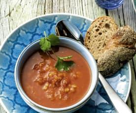 Kryddig marockansk linssoppa