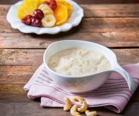 Salsa allo yogurt di soia e sciroppo d'agave (vegan)